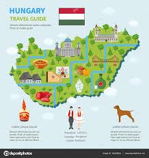 Hungary World Map Infographic Map Of Hungary U2014 Stock Vector Macrovector 142376834