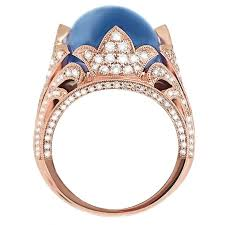 rings star sapphire images Star sapphire and rose gold ring sapphire rings fine jewelry jpg