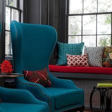 peacock blue chair peacock blue velvet wingback chairs design ideas