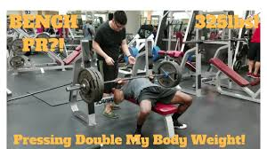 bench press double bodyweight part 49 100 reps bench press body