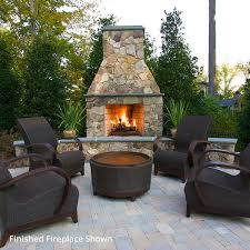 outdoor modular masonry fireplaces woodlanddirect com fire rings foldable fire ring fire rings mountains trees