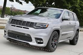 gunmetal jeep cherokee jeep grand cherokee trackhawk spied uncovered cherokee srt8 forum