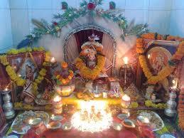 Ugadi Decorations At Home Pooja Room Designs And Decor For Gudi Padwa Pooja Room And