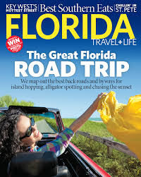 Florida travel magazine images Florida travel life cover feature shoots vicky hodges png