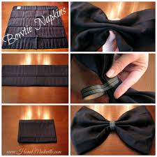 how to fold table napkins wedding craft lightning how to fold a bowtie napkin napkins
