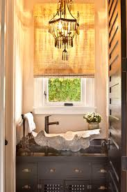 Oyster Chandelier Oyster Shell Chandelier Bathroom Eclectic With Chandelier Dark