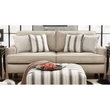 Striped Sofas Living Room Furniture by Furniture Beige 2 Seater Sofa With Wooden Base By Chelsea Home