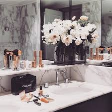 bathroom decorating accessories and ideas bathroom goals marble rose gold shopmarsia marsia pinterest