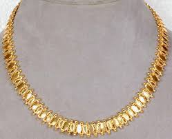 sterling gold necklace images Sterling gold plated necklace from rajasthan jpg