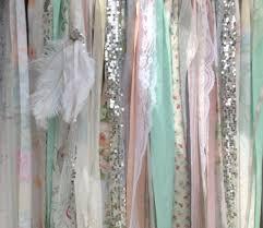 boho backdrop tribal curtains peach mint gray rag 7 ft