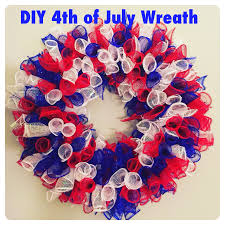 deco mesh supplies easy diy july 4th deco mesh wreath who said nothing in is free