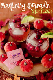 this cranberry limeade punch is the perfect festive drink for any