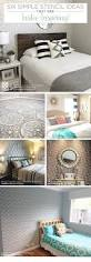 easy home decorating projects six simple stencil ideas that are insta inspiring stencil stories