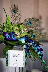 peacock centerpieces 33 gorgeous peacock centerpieces table decorating ideas