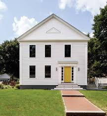 contemporary design for a new old greek revival old house