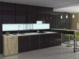kitchen glass door cabinets kitchen modern glass normabudden com