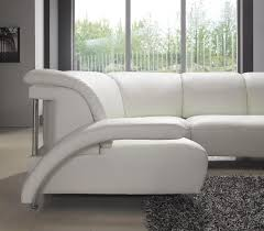 white leather sectional sofa with chaise gorgeous white leather sectional sofa polaris italian leather
