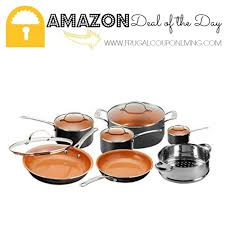 t fal black friday deal on amazon amazon deal of the day gotham steel nonstick frying pan and