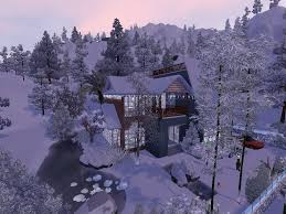 Winter House The Sims 3 House Building Winter Snow 276 Dutchsims 3 Master
