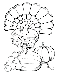 free turkey coloring pages for thanksgiving baby turkey