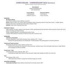 high student resume for internship sle college student resume for internship