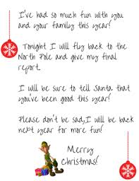elf goodbye letter docoments ojazlink