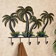 Bathroom Towel Hook Ideas Palm Tree Tropical Metal Wall Hook Rack Tree Bedroom Wall Hook