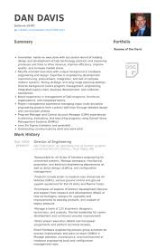 Best Electrical Engineer Resume by Director Of Engineering Resume Samples Visualcv Resume Samples