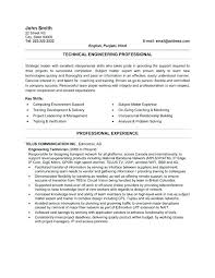 Resume Template Engineer Engineering Technician Resume Sample Automotive Paint Technician