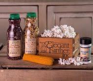 popcorn gift baskets gourmet popcorn gift basket popcorn kernelsthe farmer