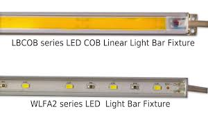 cob led light bar led cob linear light bar youtube