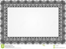 free stock certificate page border clipart clipart collection