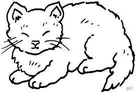 cat 12 coloring page free printable coloring pages