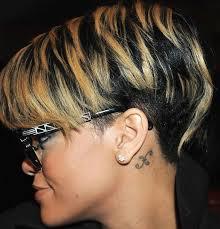 short chunky hairstyles the 25 best rihanna black hairstyles ideas on pinterest lasonya