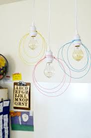 Diy Pendant Light Fixture Halo Light Pendant Diy U2013 A Beautiful Mess