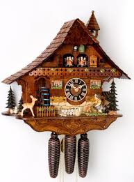 German Grandfather Clocks Cuckoo Clocks Authentic German 8 Day Musical Chalet Clock