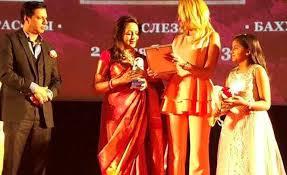 hema siege social hema malini honoured in russia for contribution to indian cinema