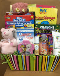 chemo gift basket cancer gift baskets for children rock the treatment