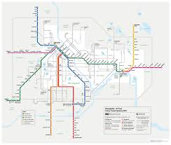 Mbta Train Map by Future Minneapolis U0026 St Paul Transit Map Transit Maps