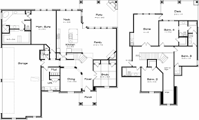 floor plans for large homes pleasant design house plans for big family 5 large home ranch