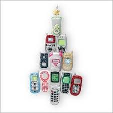 2007 cellebrate cell phone hallmark ornament at hooked on hallmark