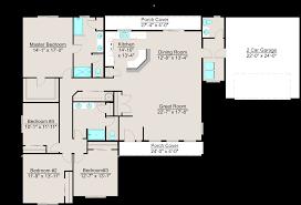lexar 2363 single level 4 bed 2 5 bath 2 car garage house