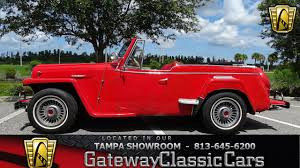 custom willys jeepster red willys overland for sale used cars on buysellsearch