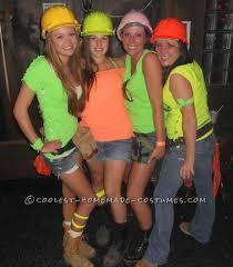 Cute Homemade Halloween Costumes Girls Cute Group Halloween Costume Idea Construction Workers