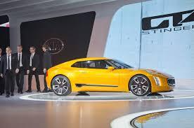 kia gt4 stinger concept revealed at 2014 detroit auto show
