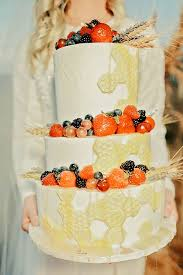 wedding cake harvest feast your on this bountiful wheat harvest wedding southern