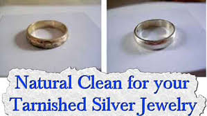 clean for your tarnished silver jewelry