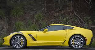 yellow corvette 2017 chevrolet corvette grand sport yellow profile photos