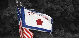 Flag Of Pittsburgh Carson Long Military Academy Pennsylvania