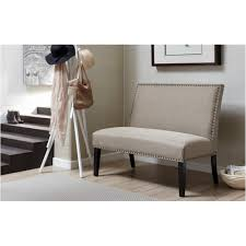 pri banquette gray bench ds 2183 400 2 the home depot